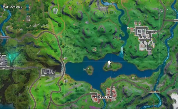 Delta Shadow Safe House Fortnite Location