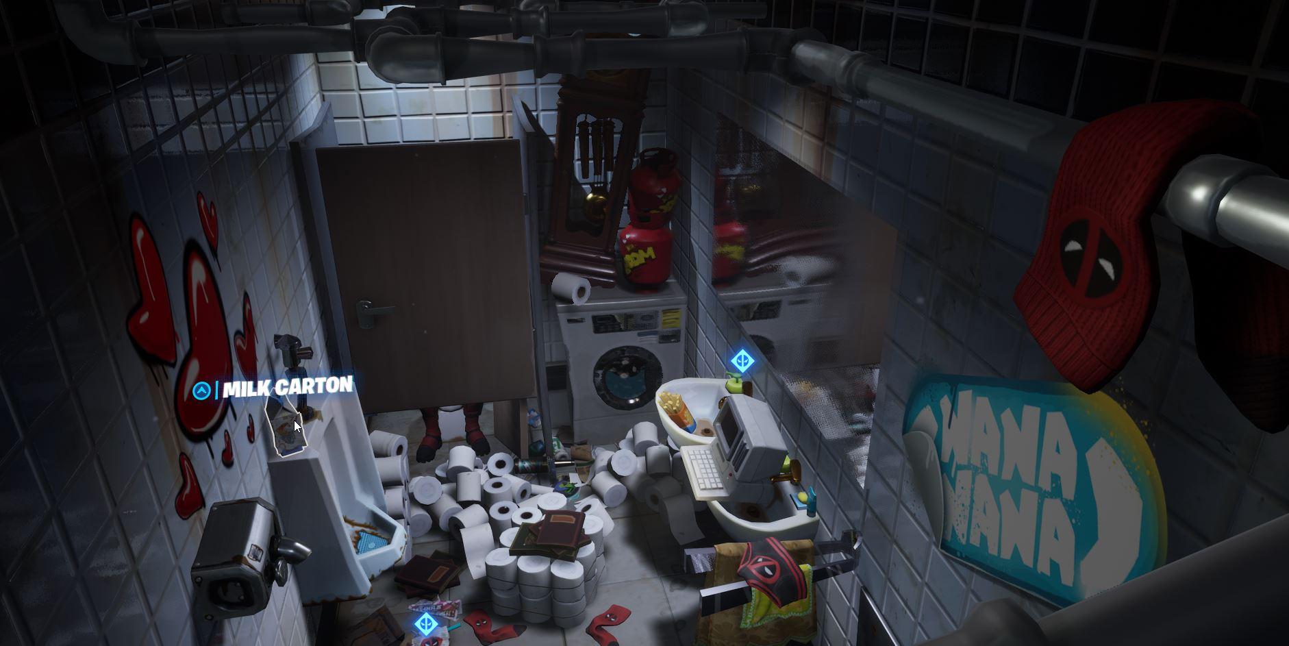 Find Deadpools Milk Carton Location Fortnite
