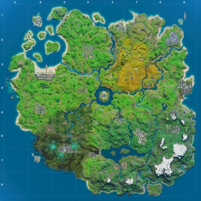 Fortnite Chapter 2 Season 2 Map