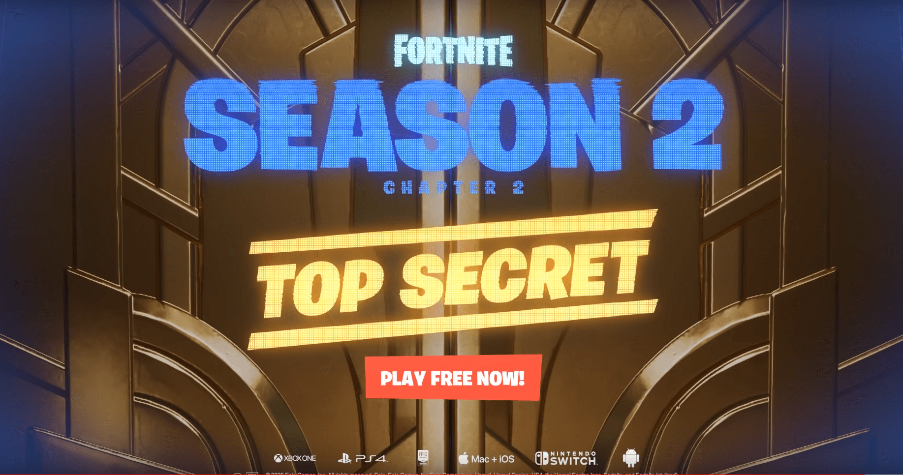 Fortnite Chapter 2 Season 2 Top Secret Trailer