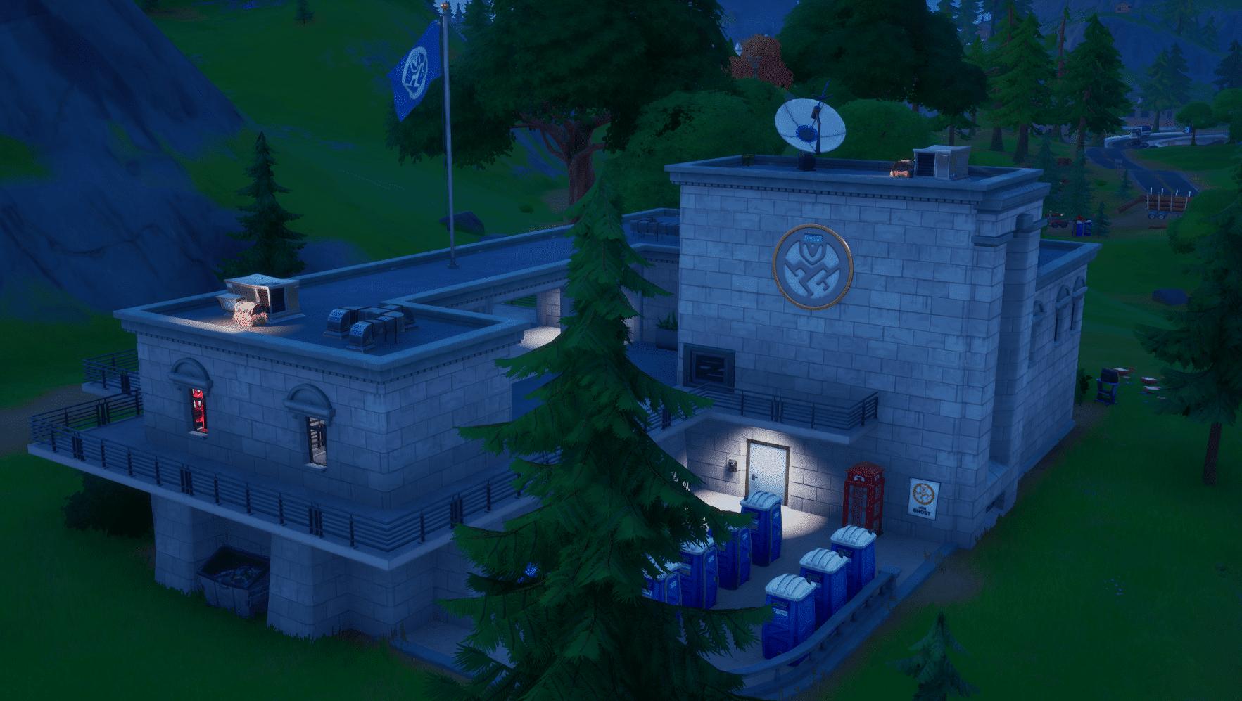 Fortnite Ghost Headquarters