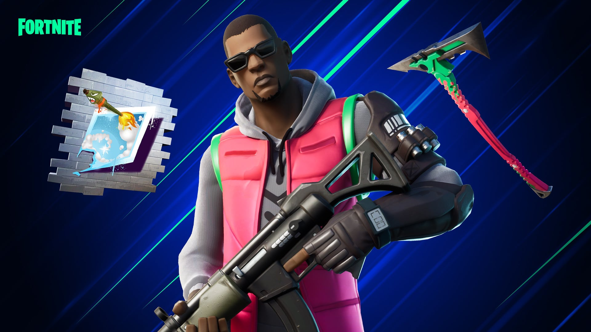 Fortnite PS4 Celebration Cup - Free Tango Ski, Pickaxe and Spray