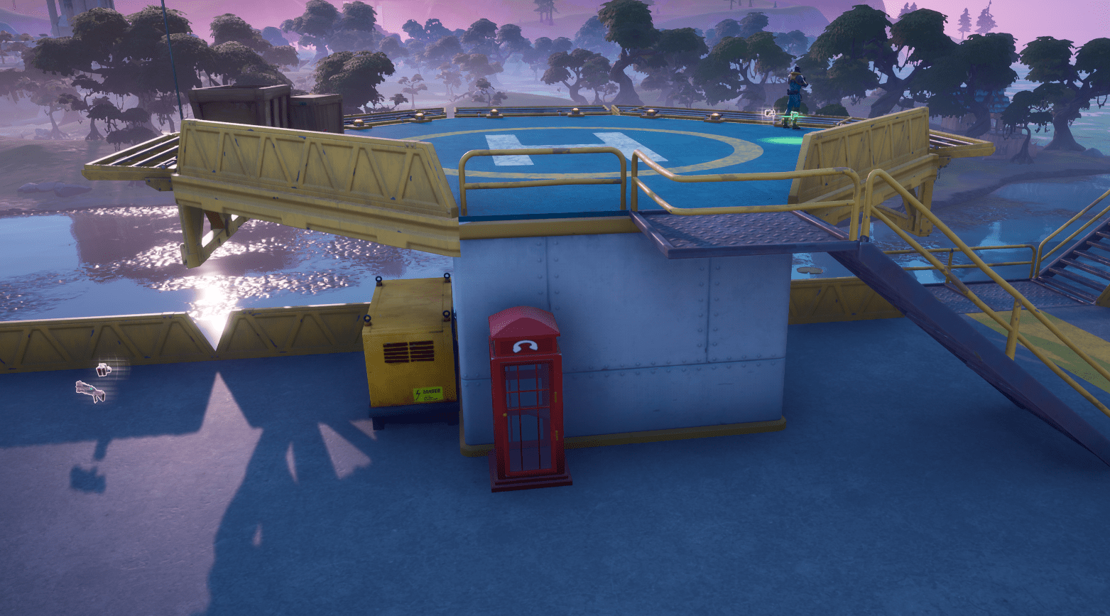 Fortnite Phone Booth Locations - The Rig 1