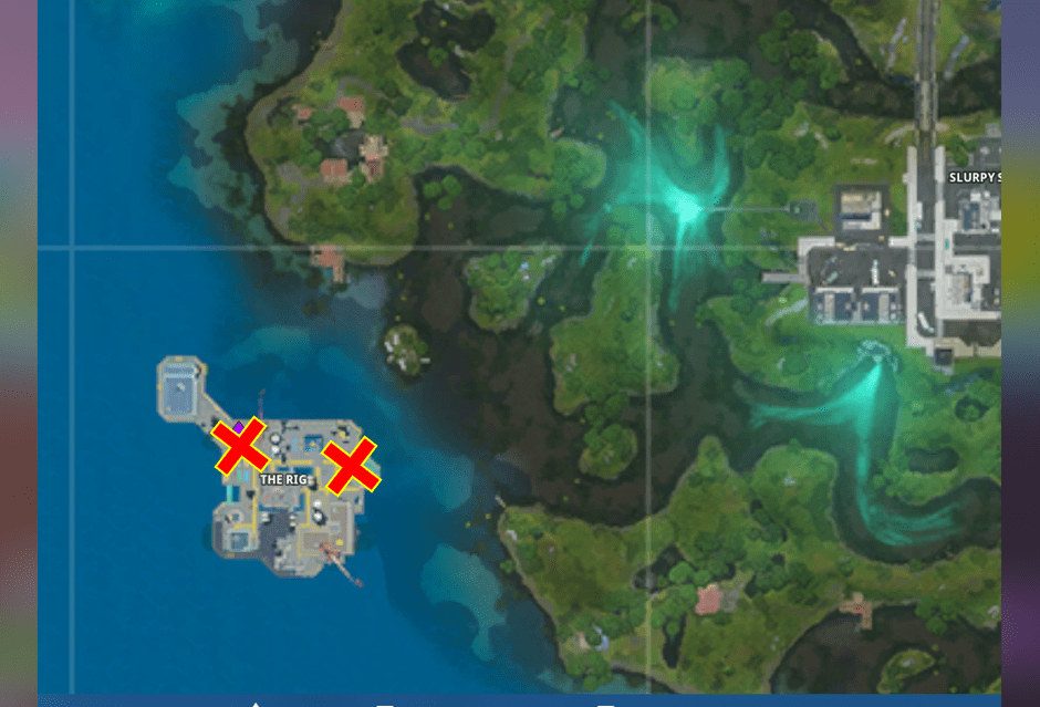 Fortnite The Rig Phone Booth Map Locations