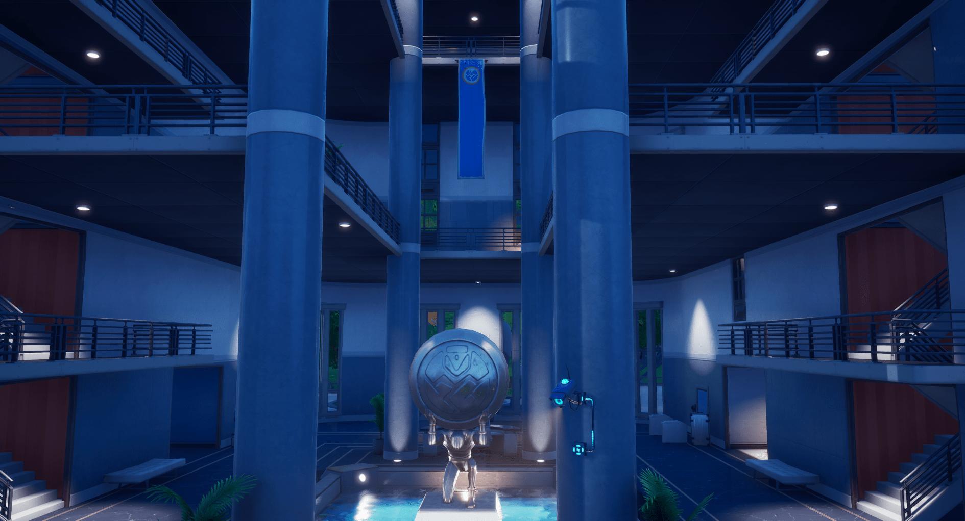 Fortnite v12.00 Map Changes - Inside The Agency