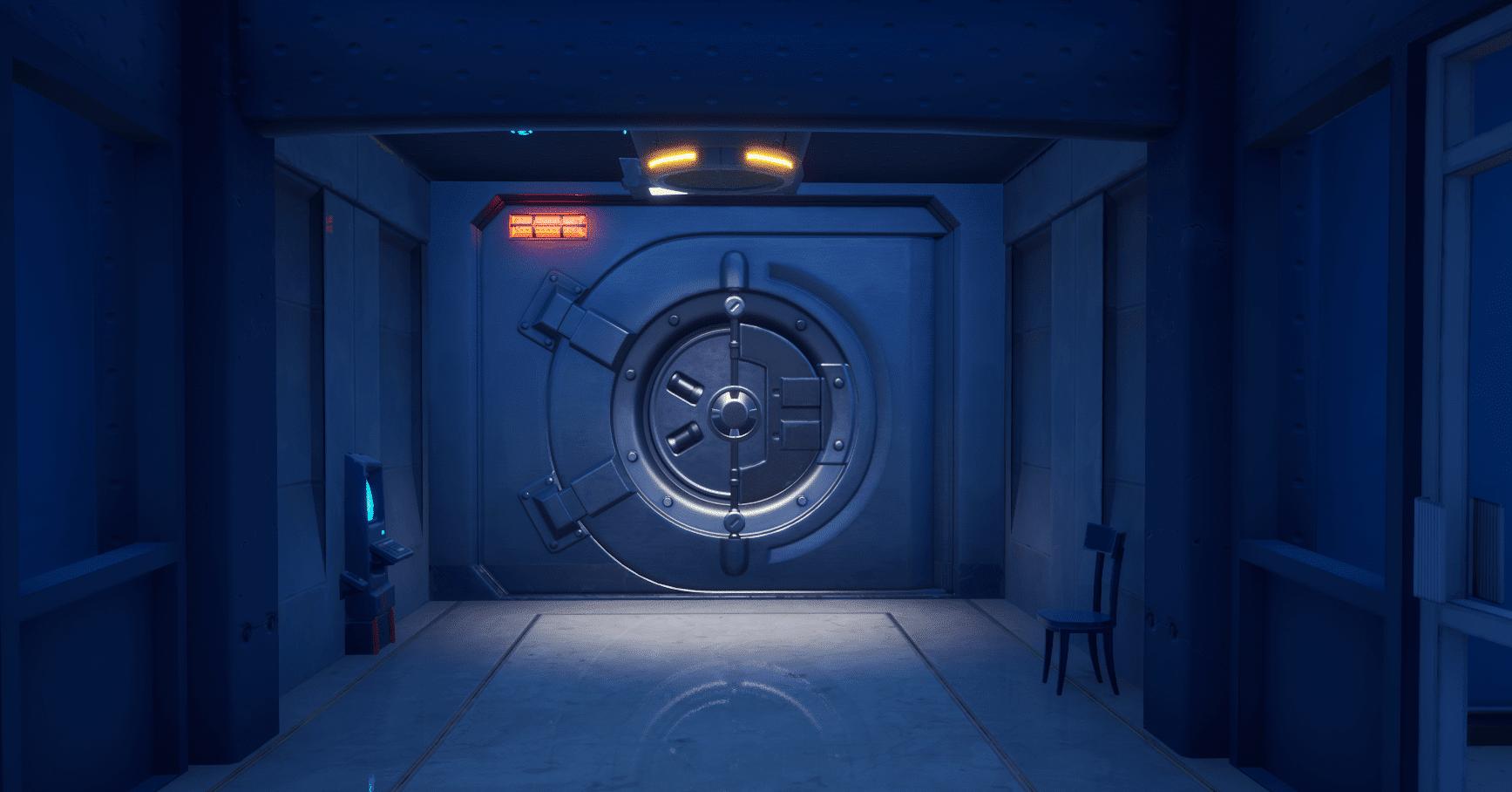 Fortnite v12.00 Map Changes - The Shark Vault