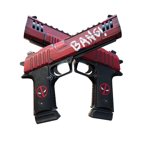 Deadpool Dual Pistols Fortnite