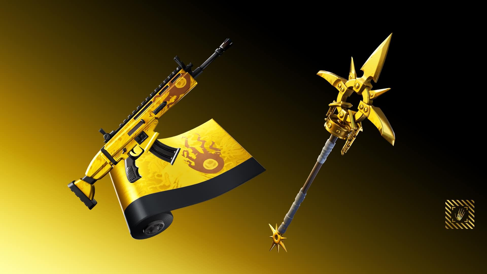 Fortnite Awaken Oro Rewards