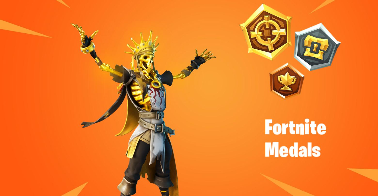 Fortnite Collect Medals