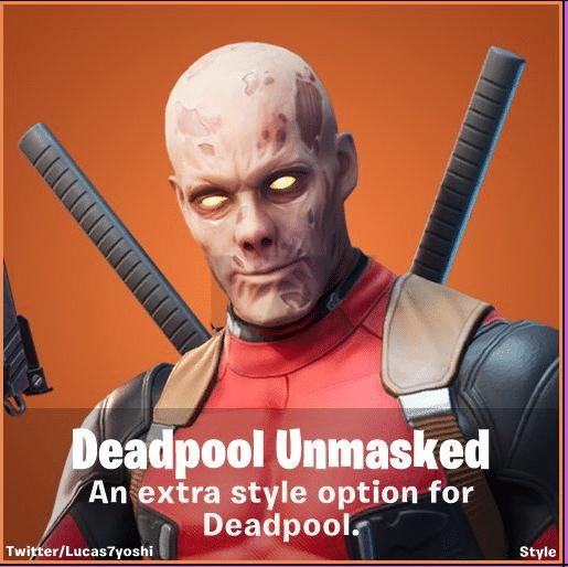 Fortnite Deadpool Skin Syle