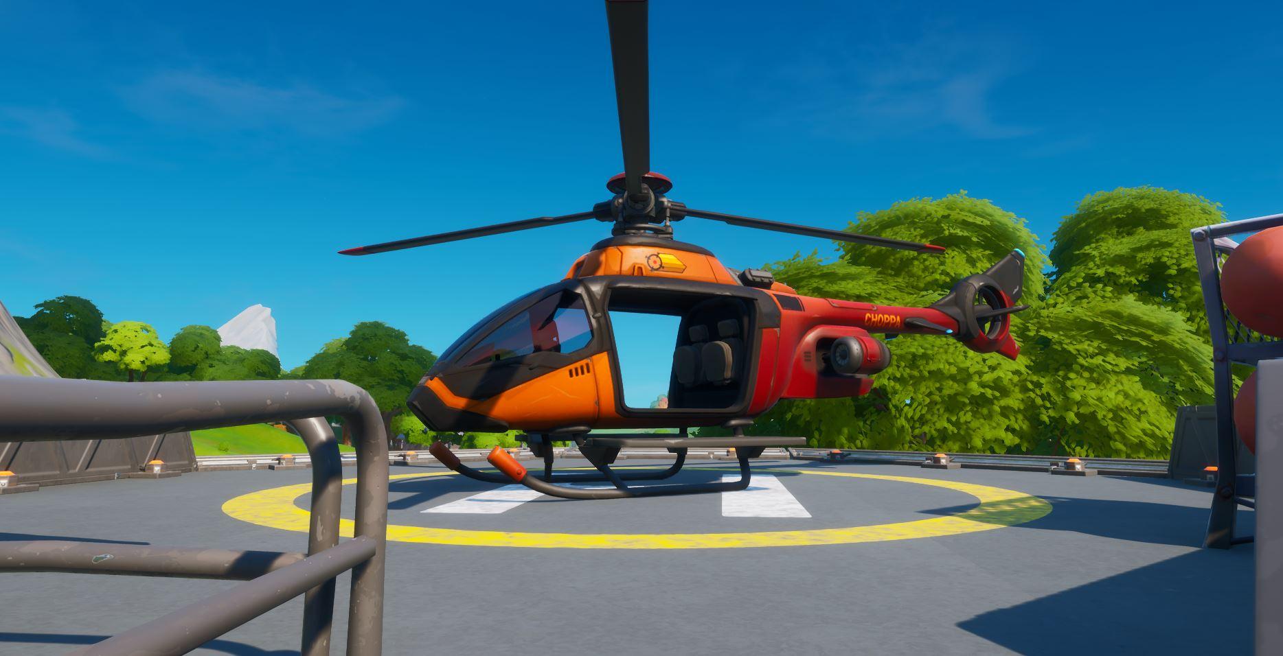 Fortnite Choppa Helicopter