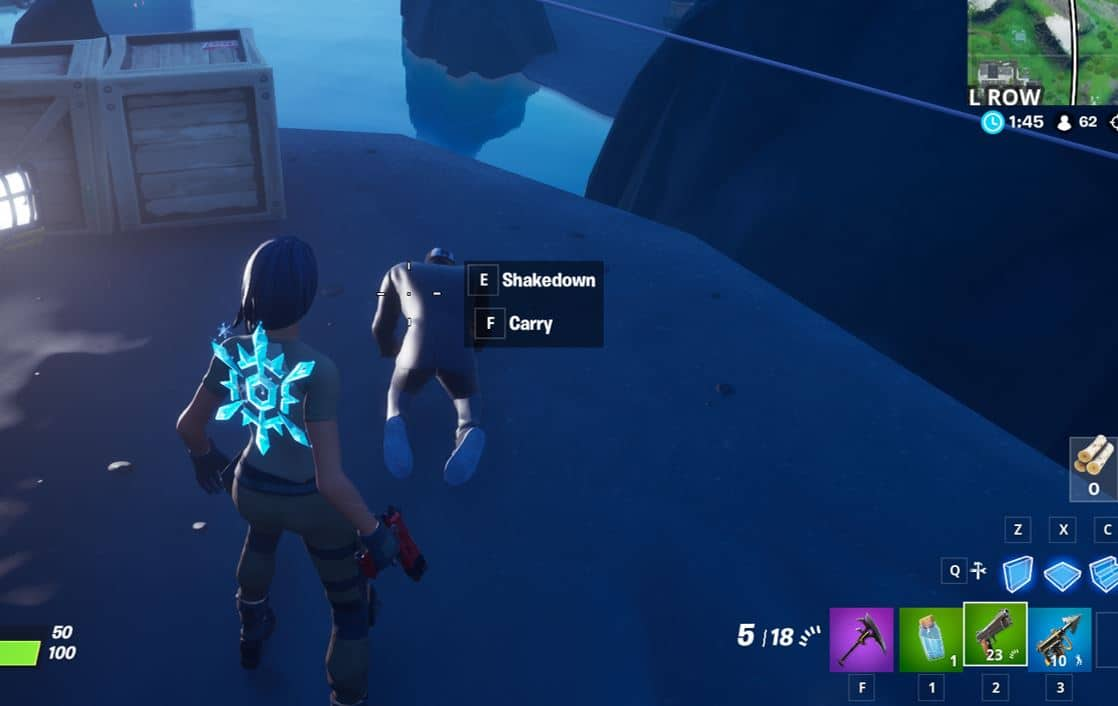 Fortnite: Shakedown or Carry Henchman