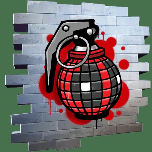Fortnite Wade Grenade Spray
