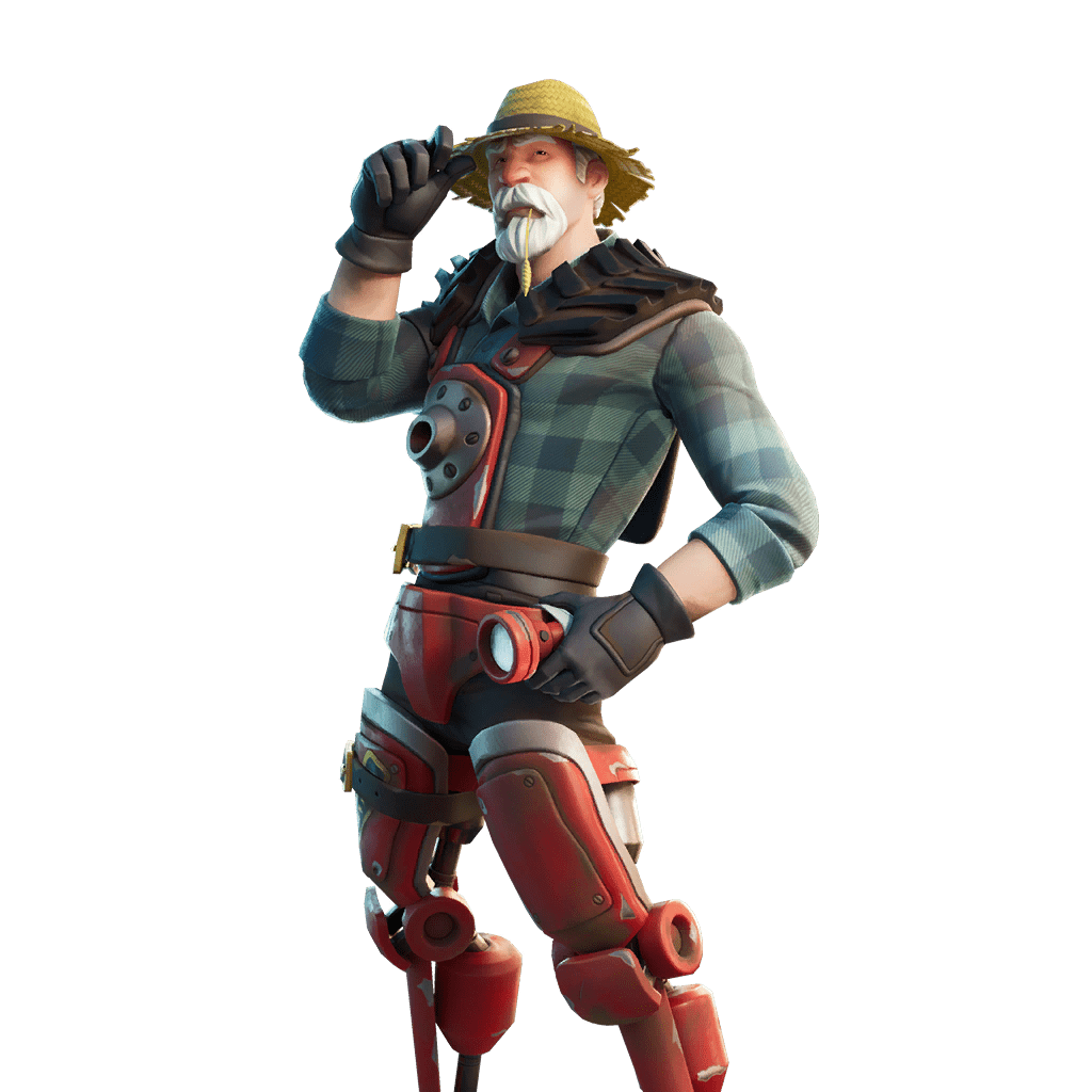 Fortnite v12.10 Leaked Skin - Farmer Steel