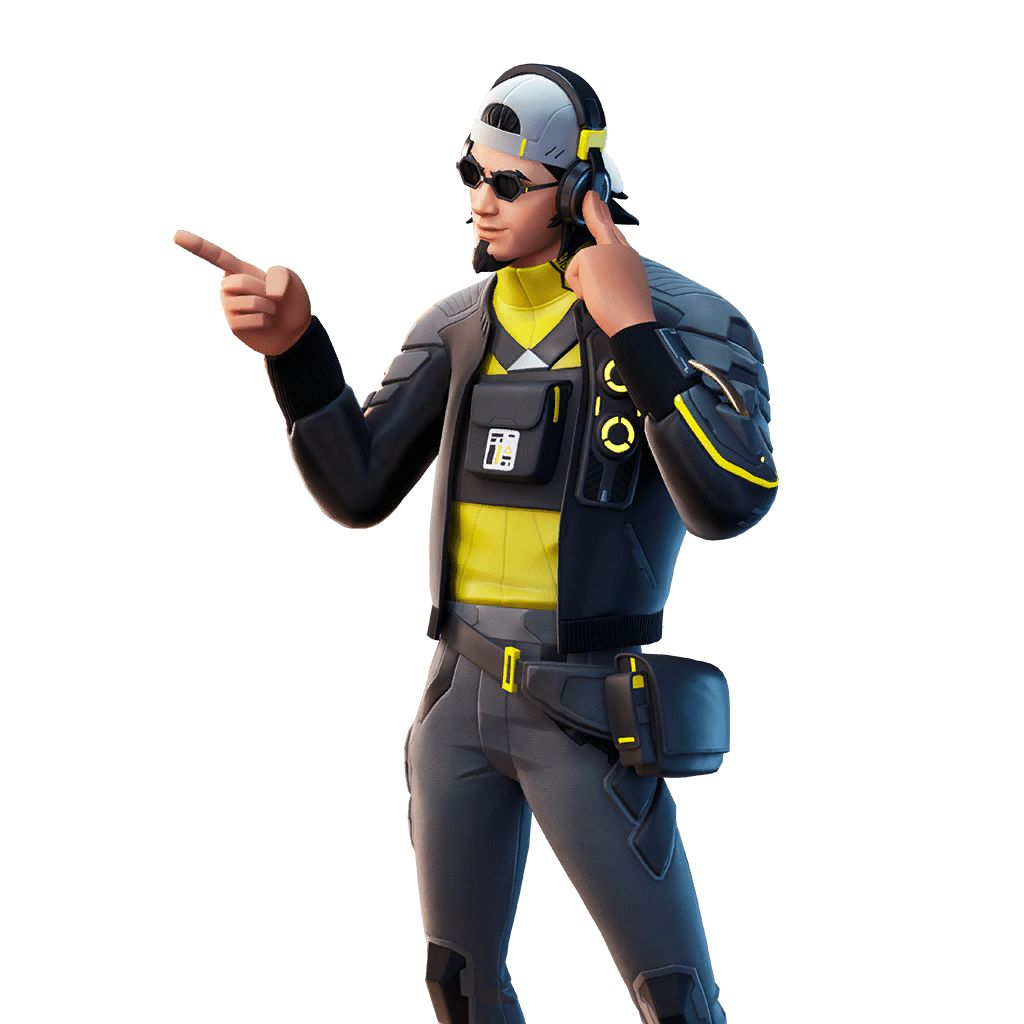 Fortnite v12.20 Leaked Skin - Wiretap