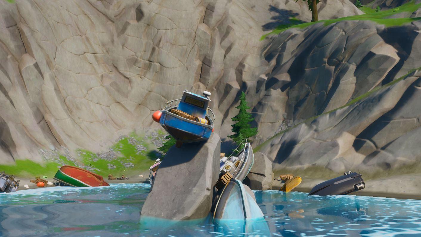Shipwreck Cove Fortnite