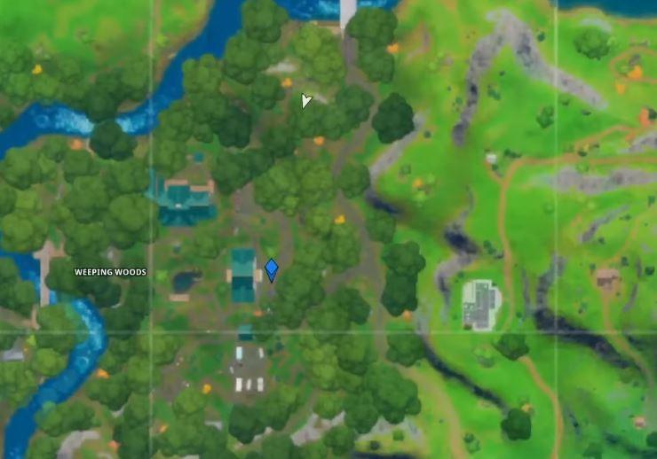 Find Shadow Ollie Fortnite Map Location