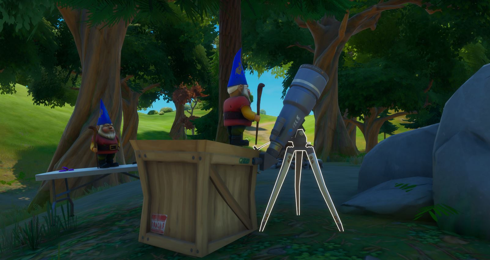 For the Gnomes Fortnite Hidden Quest