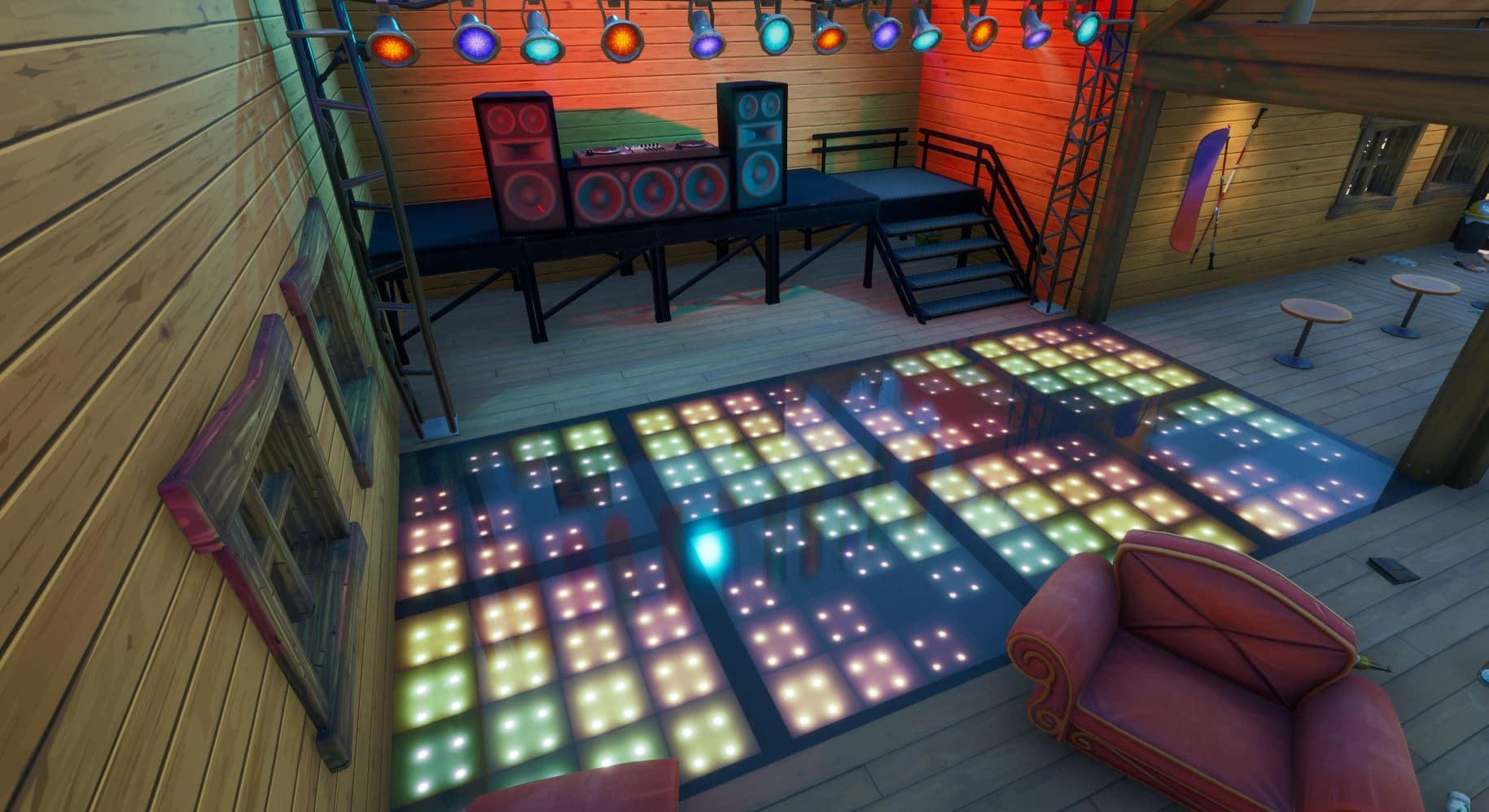 Fortnite Dance Floor Locations : How and Where to Dance ...