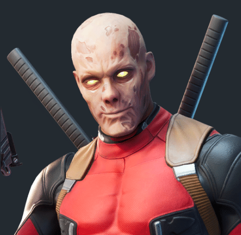 Fortnite Deadpool Skin Style