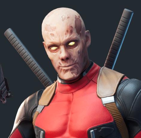 Fortnite Unmasked Deadpool Skin Style