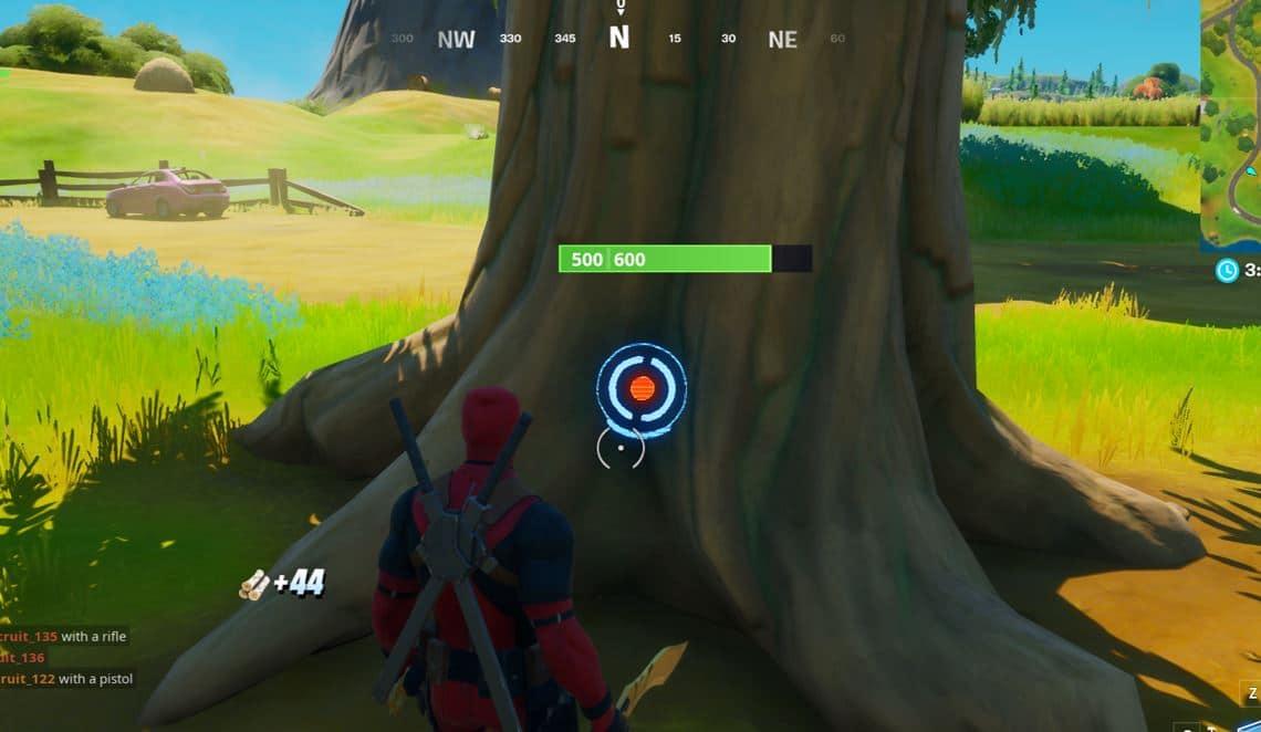 Fortnite - Hitting Weak Points