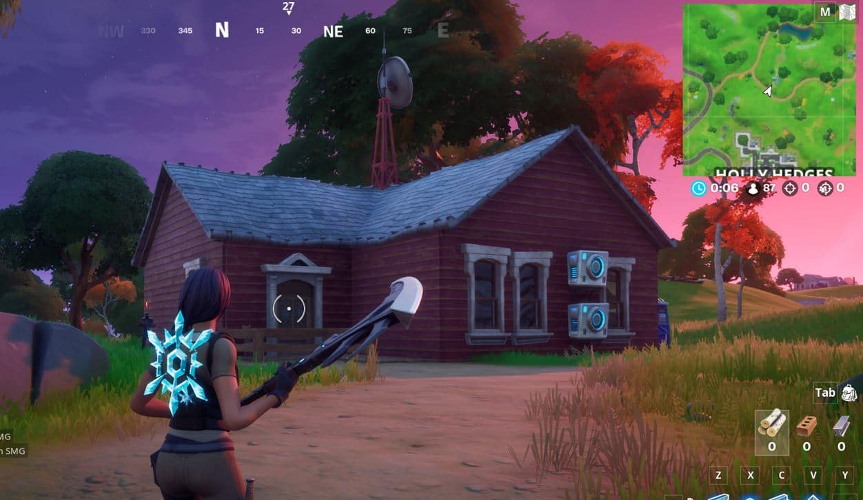 Fortnite Spy Base Locations - North of Holly Hedges