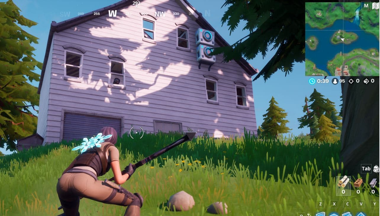 Fortnite Spy Base Locations - North of Misty Meadows