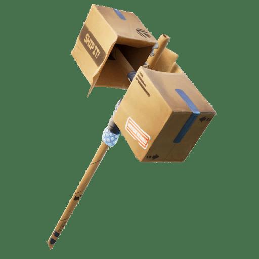 Fortnite v12.30 Leaked Pickaxe - Box Basher