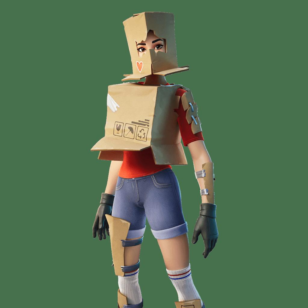Fortnite v12.30 Leaked Skin - Boxy