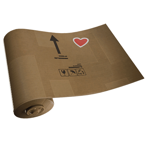 Fortnite v12.30 Leaked Wrap - Crafted Cardboard