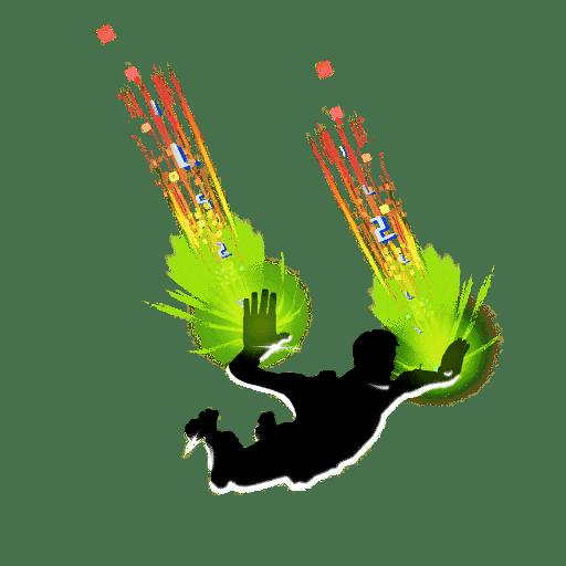 Fortnite v12.40 Leaked Contrail - Synth Streak