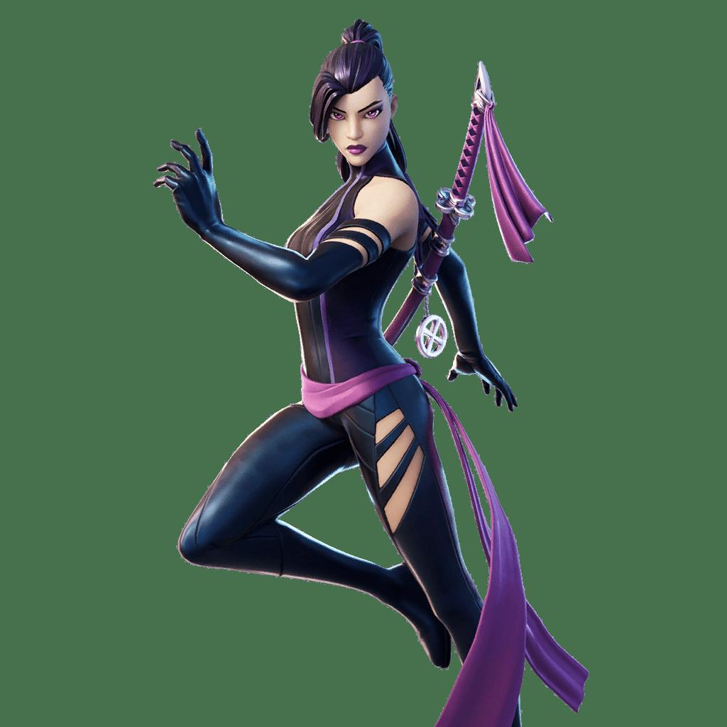 Fortnite v12.40 Leaked Skin - Psylocke