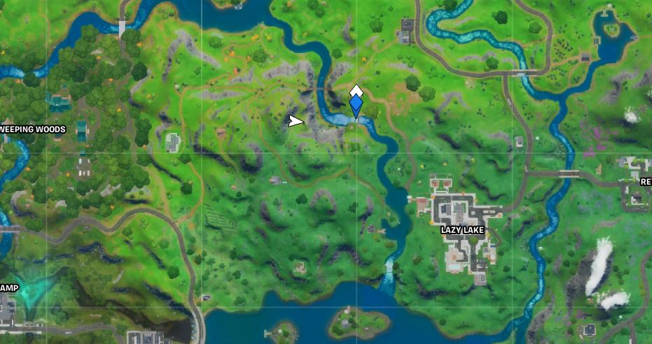 Gorgeous Gorge Fortnite Map Location
