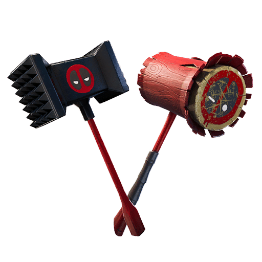 Meaty Mallets Deadpool Fortnite Pickaxe