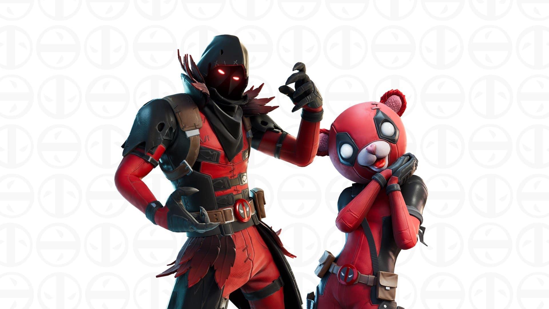 Fortnite Deadpool Week 8 Challenges And Unmasked Deadpool Skin Style Fortnite Insider