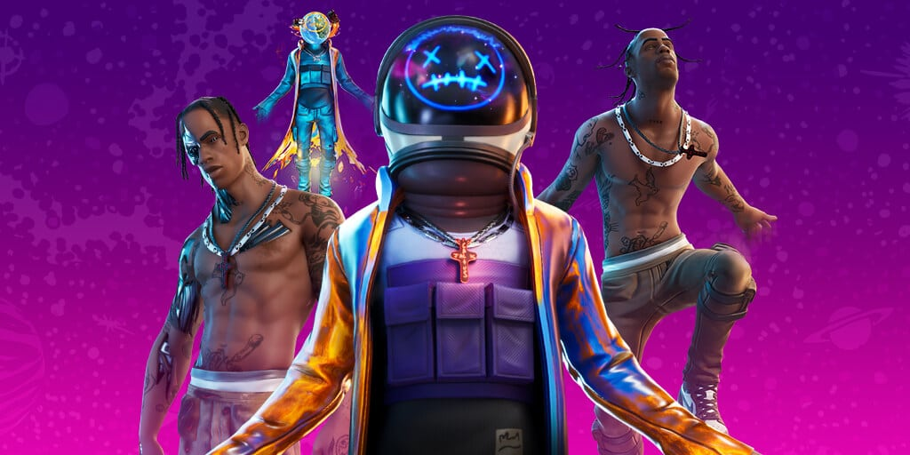 Travis Scott's Astronomical Fortnite concert smashes the game's all-time player record