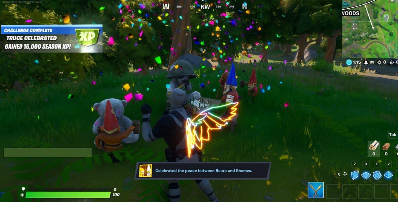 Fortnite Free XP - Gnome More War