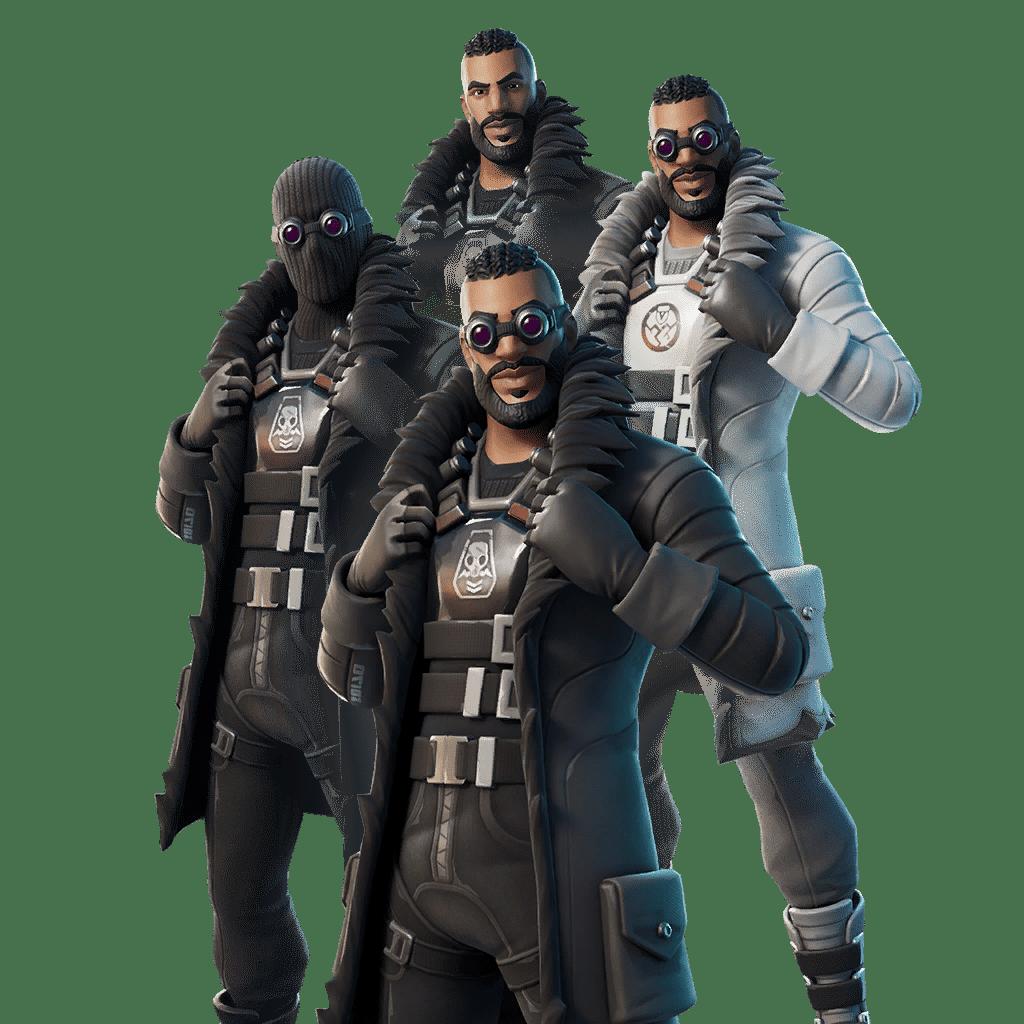 Fortnite Leaked v12.60 Skin - Renegade Shadow