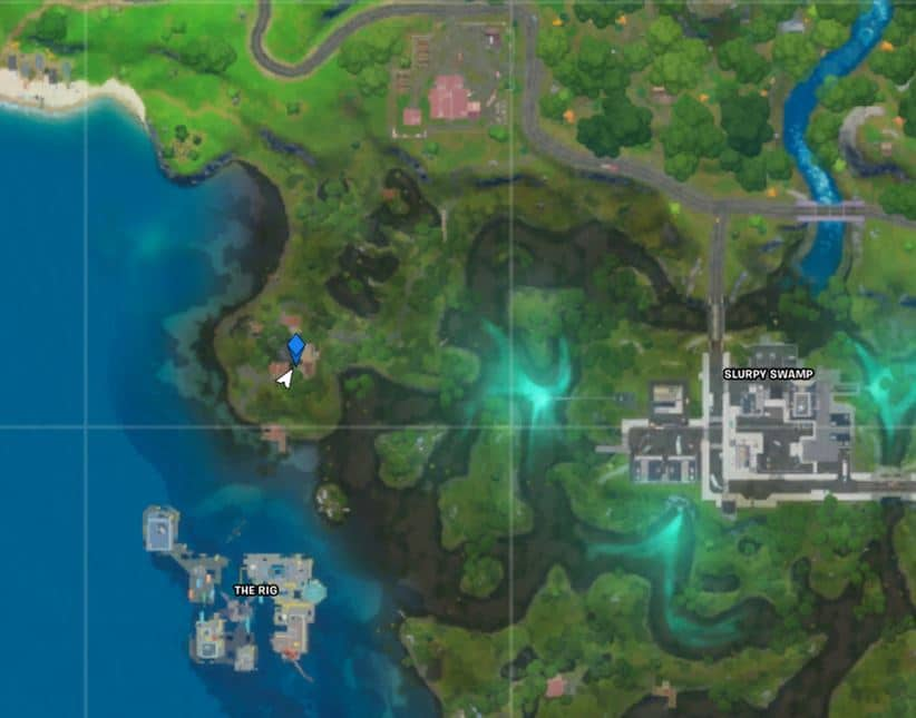 Fortnite Shanty Town Map Location