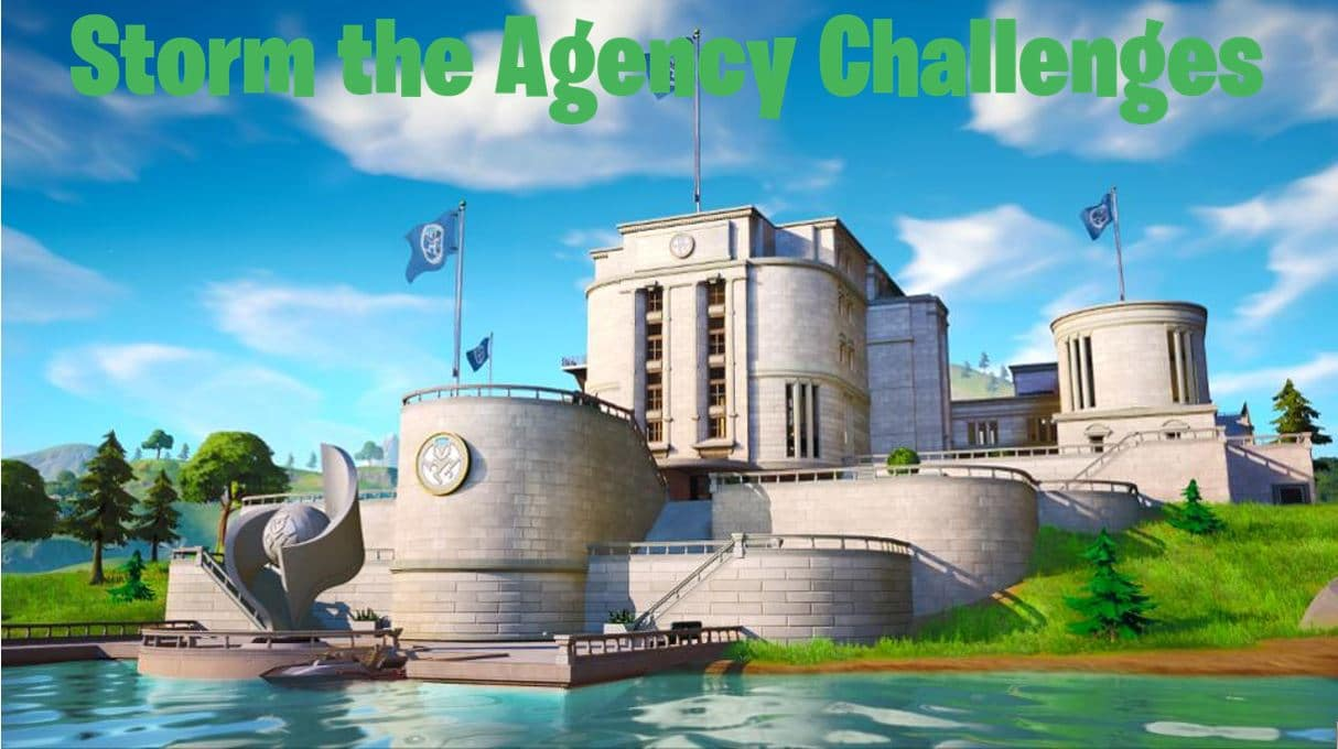 Fortnite Storm the Agency Challenges Available Now