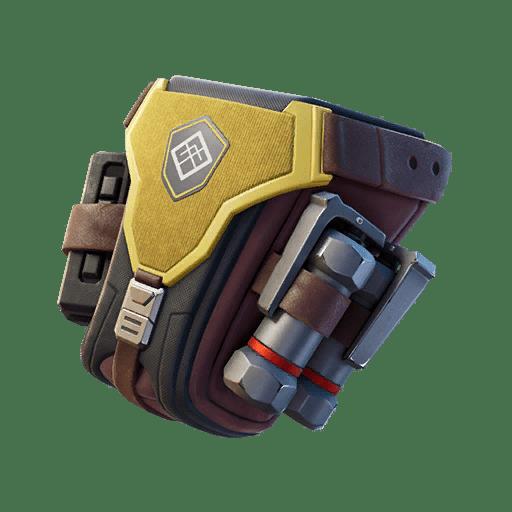Fortnite v12.50 Leaked Back Bling - Emissary Bag