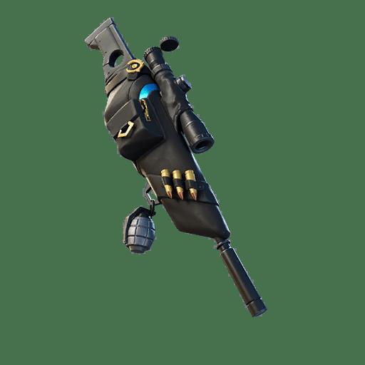 Fortnite v12.50 Leaked Back Bling - Silencer