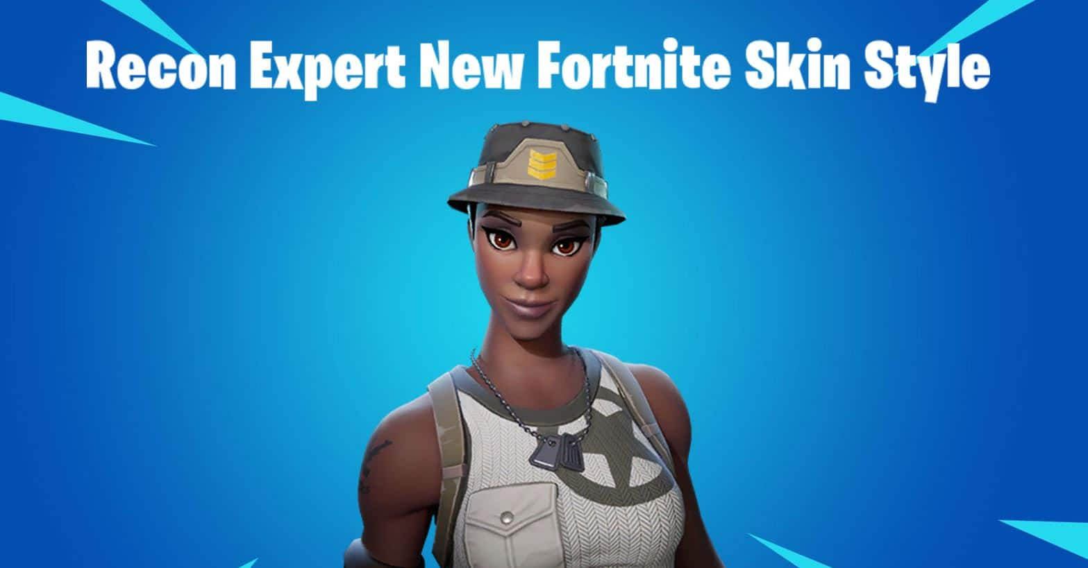 Recon Expert No Hat Fortnite Skin Style