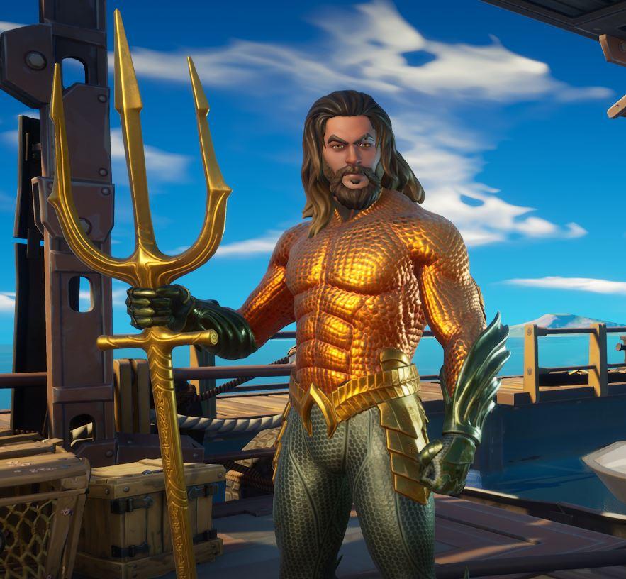 Aquaman Fortnite Skin