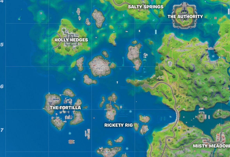 Fortilla Fortnite Map Location