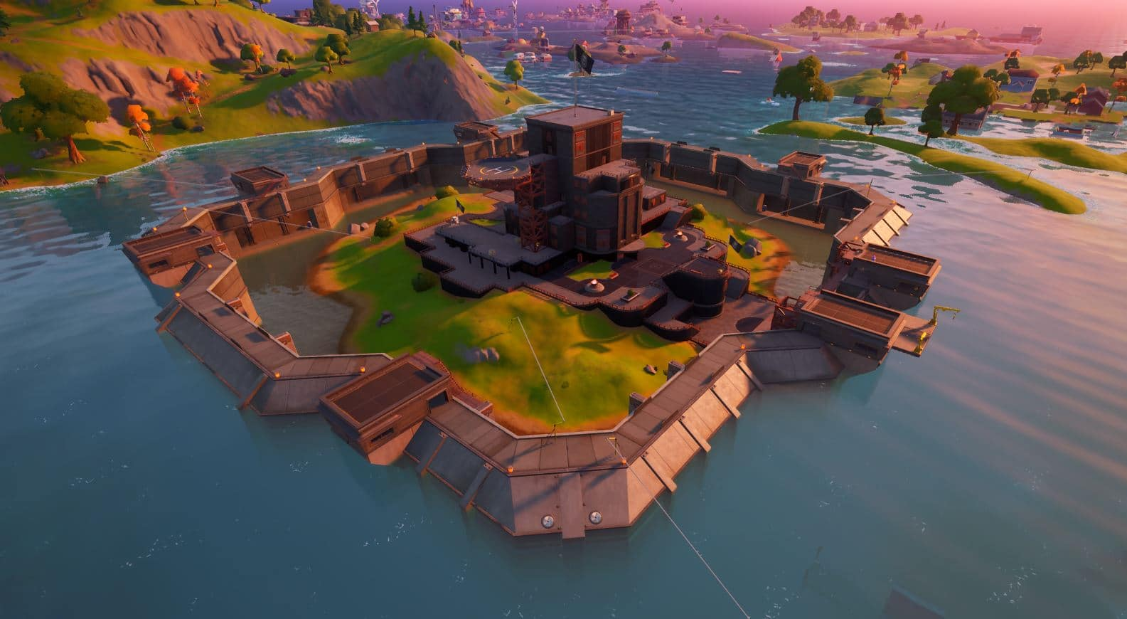 Fortnite Chapter 2, Season 3 v13.00 Map Changes - The Authority