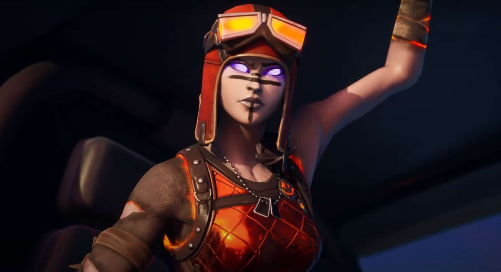 New Molten Blaze Renegade Raider Fortnite Skin Leaked Item Shop Return Fortnite Insider