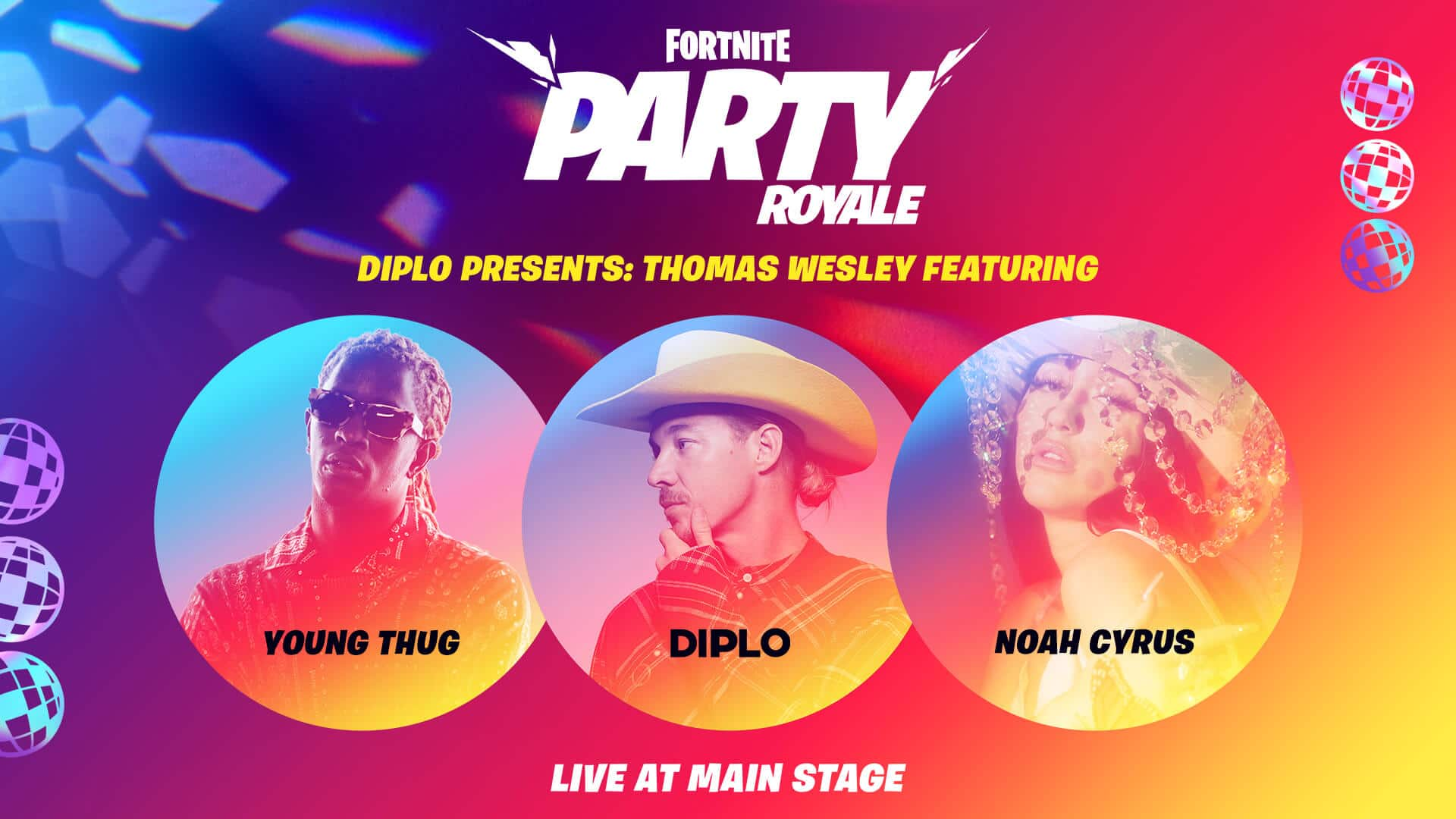 Fortnite Party Royale Thomas Wesley