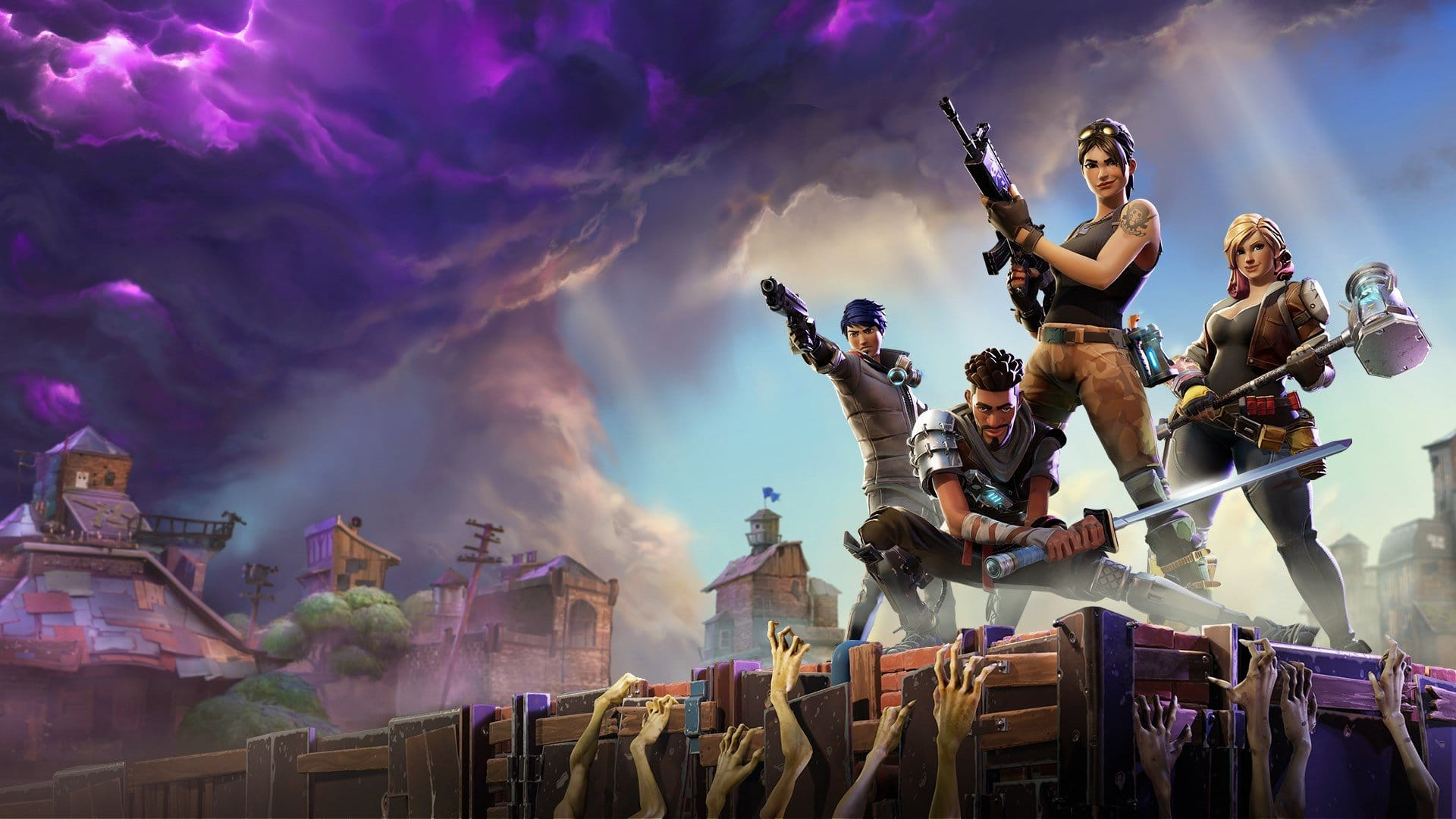 Fortnite salva el mundo